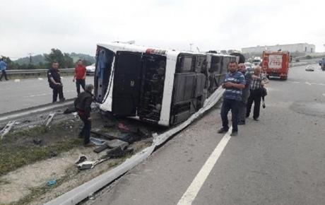 УТуреччині перекинувся автобус із військовими: постраждало 47 осіб