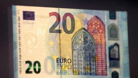 Вобігу з'являться нові банкноти номіналом 20 євро
