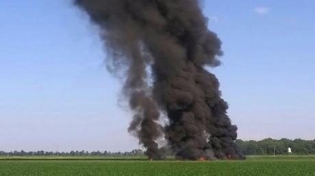 ВСША розбився літак з військовими (ВІДЕО)