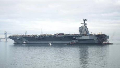 Самый дорогой вмире корабль присоединится кВМС США осенью
